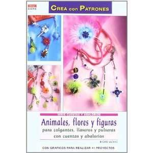 Animales, Flores y Figuras Crea con Patrones para Colgantes, Llav Eros
