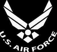 US AIR FORCE VINYL DECAL CAR WINDOW GRAPHIC STICKER