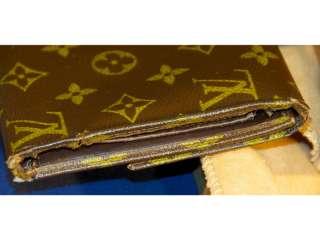 Louis Vuitton Vintage Monogram Tri Fold Wallet