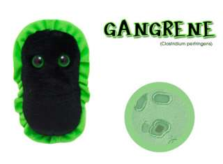 GIANT MICROBES GANGRENE Stuffed Plush Animal Gag Gifts