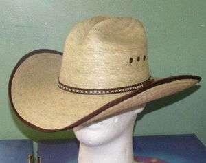 RESISTOL JASON ALDEAN HICKTOWN PALM COWBOY WESTERN HAT 717220712926