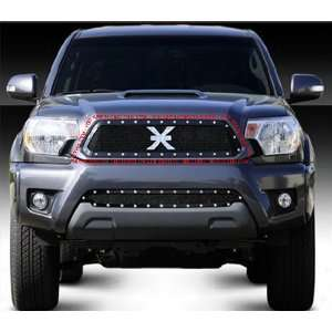 TOYOTA TACOMA 2012 MAIN MESH GRILLE GRILL BLACK X METAL Automotive