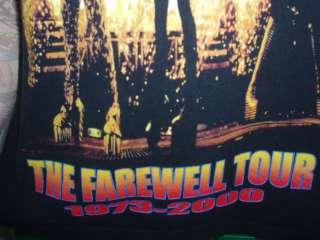 KISS FAREWELL TOUR CONCERT SHIRT original band lineup L