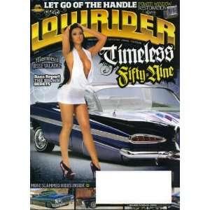 Lowrider June 2011 1959 Chevy Impala on Cover, Jesse Valadez