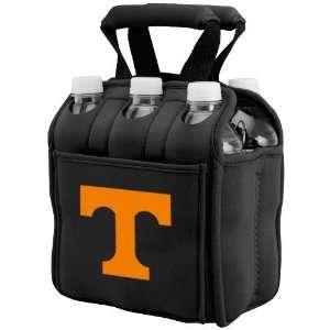 Tennessee Volunteers Black 6 Pack Neoprene Cooler Sports