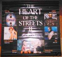 HEART OF THE STREETS 2 promo vinyl banner, Nas, Amerie