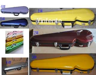 yellow glass Viola Case Glass Fiber Blue Red Brown 16viola case 3
