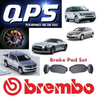 MERCEDES BENZ E CLASS (W211) E280 CDI 4 matic Brembo Front Brake Pads