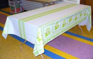 Baby Shower Banquet Tablecloth Sweet Pea #13550