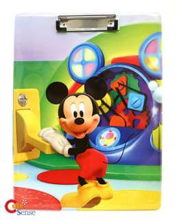 Disney Mickey Mouse 2 File Holder / Writing Pad