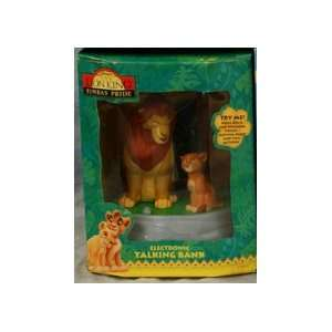 LION KING SIMBAS PRIDE Electronic Talking Bank: Toys & Games