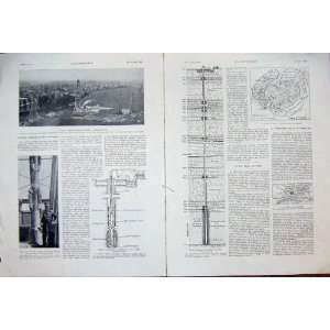 Aulnay Sous Bois Koucer Construction French Print 1933