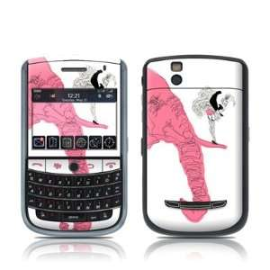 Pink Elephant Design Skin Decal Sticker for Blackberry Tour 9630 Cell