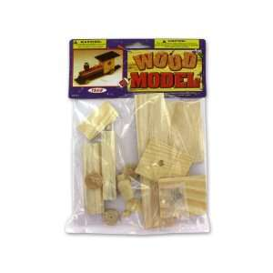 96 Packs of Wood transportation model kits Everything