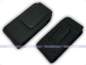 Vertical Black Leather Case for Nokia 8800 Carbon Arte