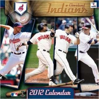 Turner Sports MLB Cleveland Indians 2012 Wall Calendar 1436085489