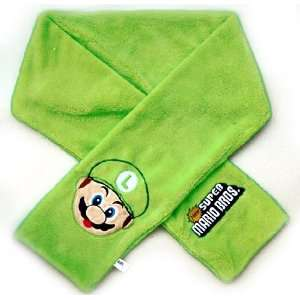 Super Mario Brothers Luigi Winter Scarf Toys & Games