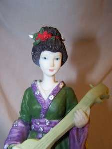 LAVIE VENUTTI COLLECTION JAPANESE GEISHA GIRL FIGURINE