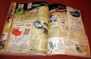 Vintage  1975 Christmas Wish Book Catalog Roebuck Toys Barbie