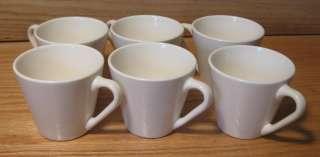 Lot 24 Syracuse China Syralite Restaurant Tall Coffee Cups