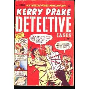 Kerry Drake Detective Cases #13 (March 1949 comic book