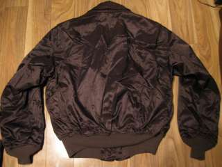 Mens Vintage ALPHA INDUSTRIES Flyers Jacket CWU 45/P Bomber Made in