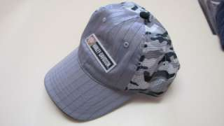 NWOT~HARLEY DAVIDSON~CAMO~Grey~Black~TRUCKER MESH COOL Cap Hat METAL