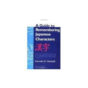 Characters 2nd (second) edition Text Only Kenneth G. Henshall Books