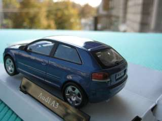 Audi A3 Cararama Diecast Collection Car Model 143 1/43