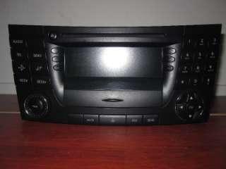 BENZ W 211 E CLASS E320 / E500 03 06 RADIO/ CD/ AUDIO UNIT OEM