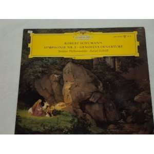 Genoveva DGG Mono Tulips Schumann, Kubelik, Berliner Music