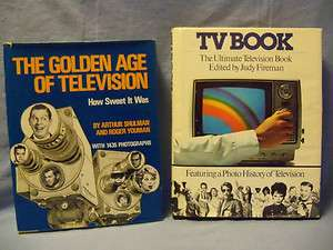 History of Television Books   Golden Age of TV & TV Book