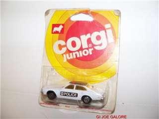 CORGI JR.(28)1976(BUICK REGAL)POLICE CAR)MOC,MISB,MIB