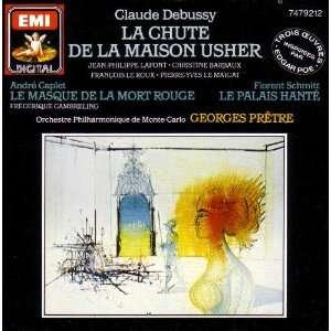 Lafont, Claude Debussy, Andre Caplet, Florent Schmitt, Georges Prêtre