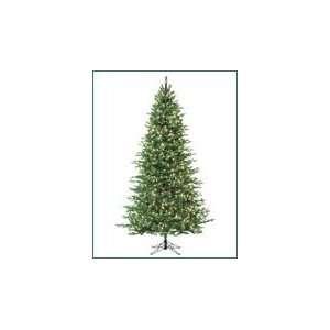Slim Cascade Fir Pre Lit Artificial Christmas Tree Multi color Lights