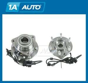 Chevy Trailblazer Envoy Bravada w/ABS 6 Lug Front Wheel Hub & Bearing