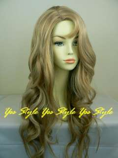brand new size average 21 23 length 26 color golden blonde w high