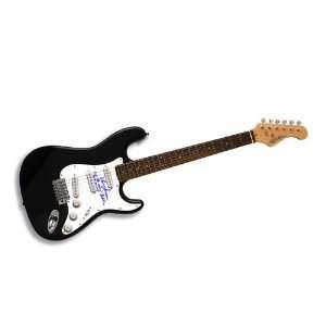 Sharon Jones Autographed Signed Guitar with inscription