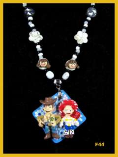 Toy Story Woody and Jessie Hairbows Hair Bow Clip ~Christmas Gift