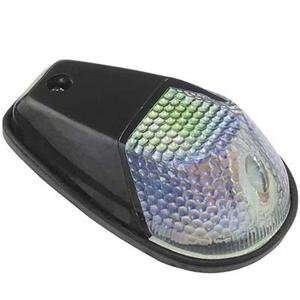 FLUSH MOUNT BLACK MINI MARKER LIGHTS (RAINBOW/AMBER) Automotive