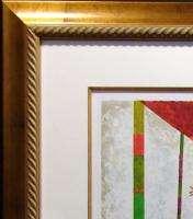 Graciela Rodo Boulanger Tourne Manege Hand Signed Art Custom Frame L