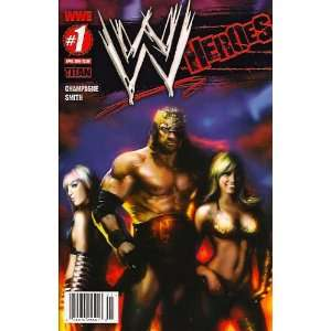 WWE Heroes #1 Liam Sharp Cover: Books