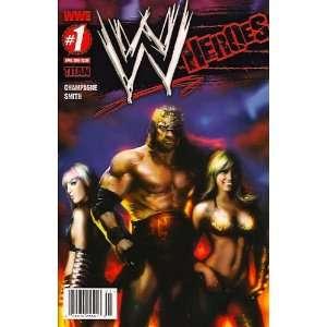 WWE Heroes #1 Liam Sharp Cover: Books