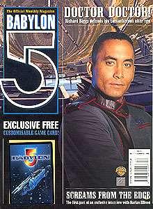 Babylon 5 Official Magazine Vol 2 #3  British