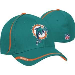 Miami Dolphins Reebok 2010 Sideline Cut and Run Structured
