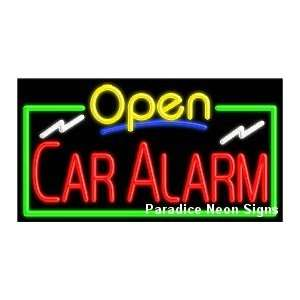 Open Car Alarm Neon Sign Sports & Outdoors