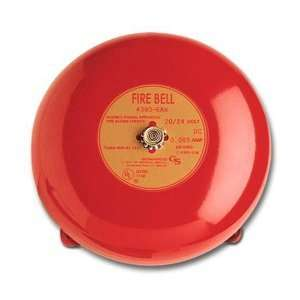 Security 439D 10AW R Fire Alarm Bell, 10, 24VDC, Red
