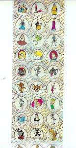 Popeye Tom & Jerry Jetsons Scooby Doo Wizard of Oz Rare Sticker Decal