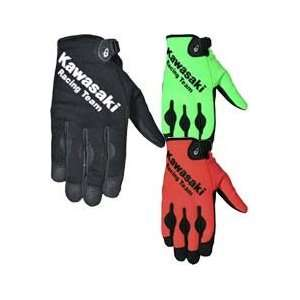 Joe Rocket Kawasaki ZX Crew Gloves Medium Green