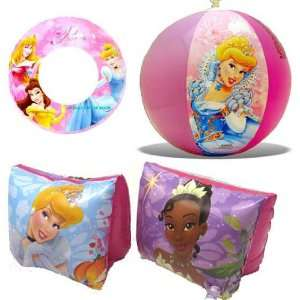 Disney Princess Beach Fun Swimming Set Pool Toys